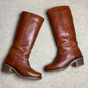 Blondo Vintage Leather Tall Women's Boots size 9